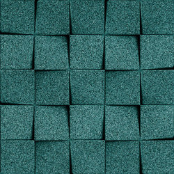 Shapes - Checkers (Emerald) | Cork tiles | Architectural Systems