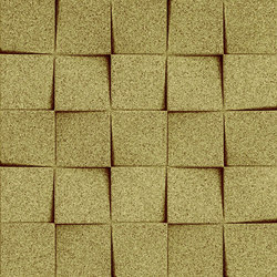 Shapes - Checkers (Olive) | Baldosas de corcho | Architectural Systems