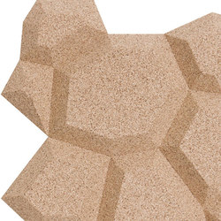 Shapes - Pop (Ivory) | Cork tiles | Architectural Systems