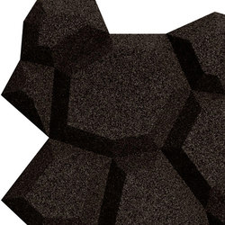Shapes - Pop (Black) | Cork tiles | Architectural Systems