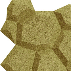 Shapes - Pop (Olive) | Cork tiles | Architectural Systems