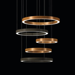 Light 5 Ring Multimateric | Pendelleuchten | HENGE
