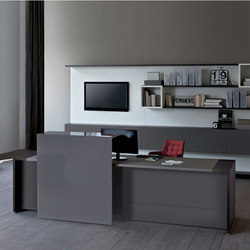 Loop In | Reception | Individual desks | Estel Group
