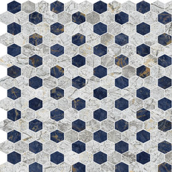 Hexagons | Type A | Piastrelle pietra naturale | Gani Marble Tiles