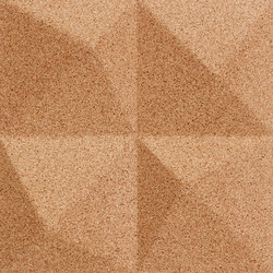 Shapes - Summit (Natural) | Cork tiles | Architectural Systems