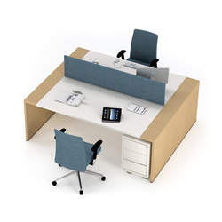 Loop In | Bench | Desking systems | Estel Group