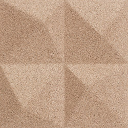 Shapes - Summit (Ivory) | Cork tiles | Architectural Systems