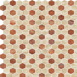 Hexagons | Type B | Dalles en pierre naturelle | Gani Marble Tiles