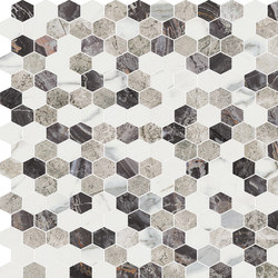 Hexagons | Type E | Natural stone tiles | Gani Marble Tiles