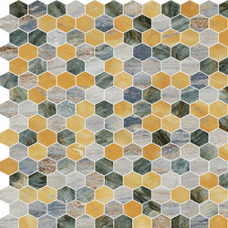 Hexagons | Type F | Dalles en pierre naturelle | Gani Marble Tiles