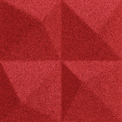 Shapes - Summit (Red) | Cork tiles | Architectural Systems