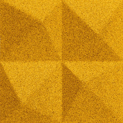 Shapes - Summit (Yellow) | Cork tiles | Architectural Systems