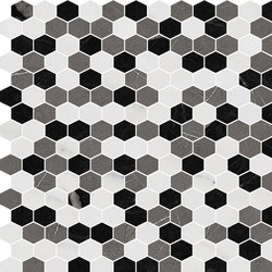 Hexagons | Type G | Dalles en pierre naturelle | Gani Marble Tiles