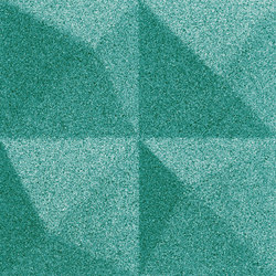 Shapes - Summit (Turquoise) | Cork tiles | Architectural Systems