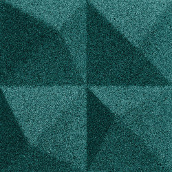 Shapes - Summit (Emerald) | Cork tiles | Architectural Systems