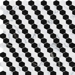 Hexagons | Type I | Dalles en pierre naturelle | Gani Marble Tiles