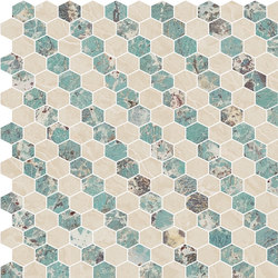 Hexagons | Type J | Dalles en pierre naturelle | Gani Marble Tiles