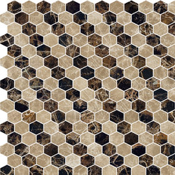 Hexagons | Type L | Dalles en pierre naturelle | Gani Marble Tiles