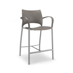 Loon 1714 | Bar stools | Keilhauer