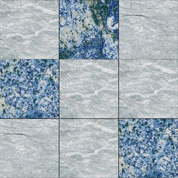 Mosaic Square 3x3 | Type F | Dalles en pierre naturelle | Gani Marble Tiles