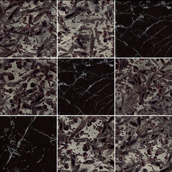 Mosaic Square 3x3 | Type H | Dalles en pierre naturelle | Gani Marble Tiles