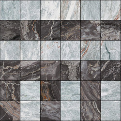 Mosaic Square 6x6 | Type C | Dalles en pierre naturelle | Gani Marble Tiles