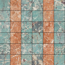 Mosaic Square 6x6 | Type E | Dalles en pierre naturelle | Gani Marble Tiles