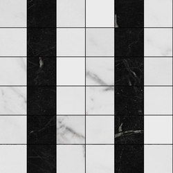 Mosaic Square 6x6 | Type H | Dalles en pierre naturelle | Gani Marble Tiles
