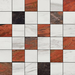 Mosaic Square 6x6 | Type K | Dalles en pierre naturelle | Gani Marble Tiles