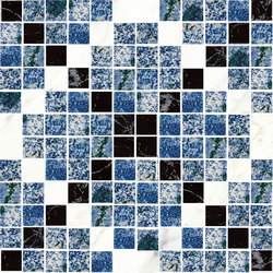 Mosaic Square CROSS 12X12 | Type F | Dalles en pierre naturelle | Gani Marble Tiles