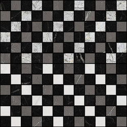 Mosaic Square CROSS 12X12 | Type D | Dalles en pierre naturelle | Gani Marble Tiles