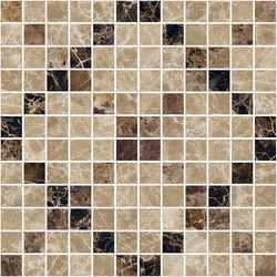 Mosaic Square CROSS 12X12 | Type G | Dalles en pierre naturelle | Gani Marble Tiles