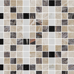 Mosaic Square FREEDRAWING 12X12 | Type C | Dalles en pierre naturelle | Gani Marble Tiles