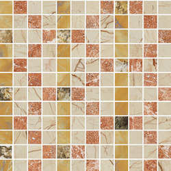 Mosaic Square FREEDRAWING 12X12 | Type D | Dalles en pierre naturelle | Gani Marble Tiles