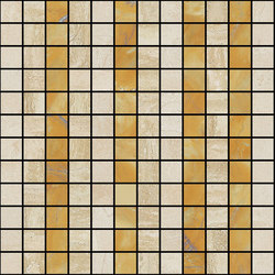 Mosaic Square LINE 12X12 | Type G | Natural stone tiles | Gani Marble Tiles