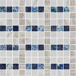 Mosaic Square LINE 12X12 | Type J | Natural stone tiles | Gani Marble Tiles
