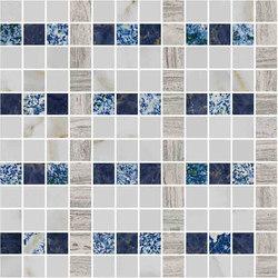 Mosaic Square LINE 12X12 | Type J | Dalles en pierre naturelle | Gani Marble Tiles