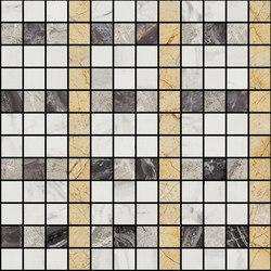 Mosaic Square LINE 12X12 | Type K | Dalles en pierre naturelle | Gani Marble Tiles