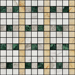 Mosaic Square LINE 12X12 | Type L | Natural stone tiles | Gani Marble Tiles