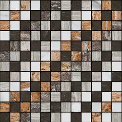 Mosaic Square SHADE 12X12 | Type G | Natural stone tiles | Gani Marble Tiles