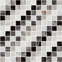 Mosaic Square SHADE 12X12 | Type I | Dalles en pierre naturelle | Gani Marble Tiles