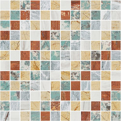 Mosaic Square SHADE 12X12 | Type J | Natural stone tiles | Gani Marble Tiles
