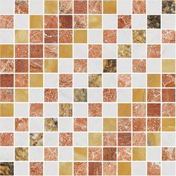 Mosaic Square SHADE 12X12 | Type M | Dalles en pierre naturelle | Gani Marble Tiles