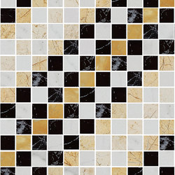 Mosaic Square SHADE 12X12 | Type N | Dalles en pierre naturelle | Gani Marble Tiles