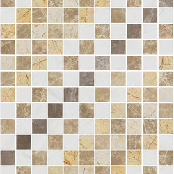 Mosaic Square SHADE 12X12 | Type O | Dalles en pierre naturelle | Gani Marble Tiles