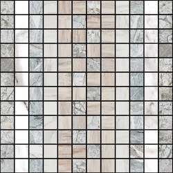 Mosaic Square SHADE 12X12 | Type C | Dalles en pierre naturelle | Gani Marble Tiles