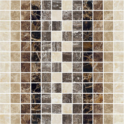 Mosaic Square SHADE 12X12 | Type B | Dalles en pierre naturelle | Gani Marble Tiles