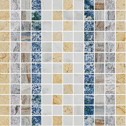 Mosaic Square SHADE 12X12 | Type D | Natural stone tiles | Gani Marble Tiles
