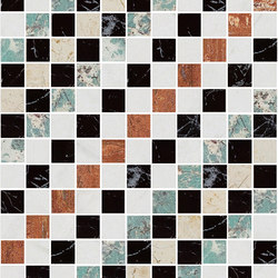 Mosaic Square SHADE 12X12 | Type P | Dalles en pierre naturelle | Gani Marble Tiles