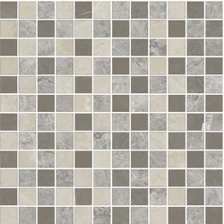 Mosaic Square STRUCTURE 12X12 | Type A | Dalles en pierre naturelle | Gani Marble Tiles